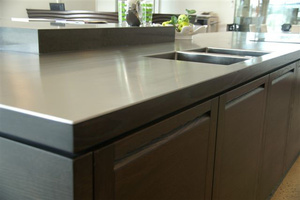 5mm Stainless Steel Benchtop