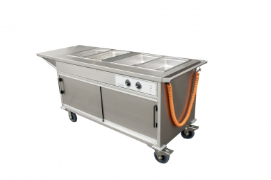 Mobile Food Service Counter